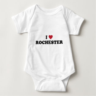 I Love Rochester New York Baby Bodysuit