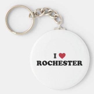 I Love Rochester New York Keychain