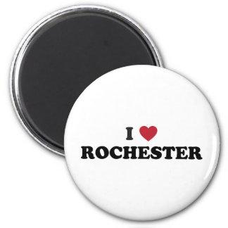I Love Rochester New York Refrigerator Magnets
