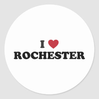 I Love Rochester New York Stickers