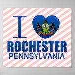 I Love Rochester, PA Print