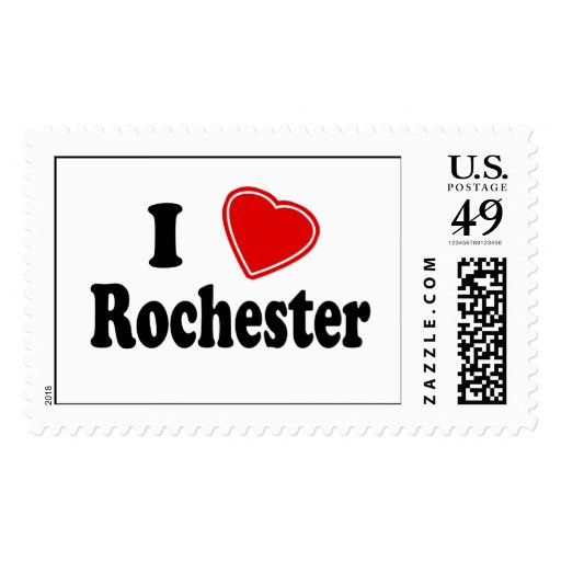 I Love Rochester Stamp