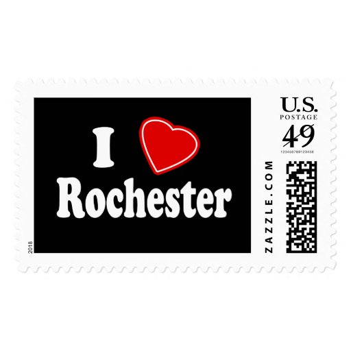 I Love Rochester Stamps