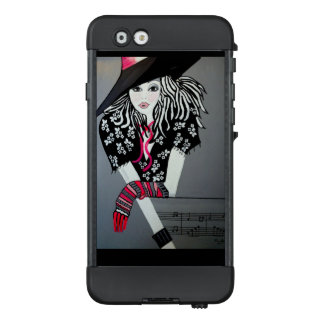 I LOVE ROCK AND ROLL LifeProof NÜÜD iPhone 6 CASE