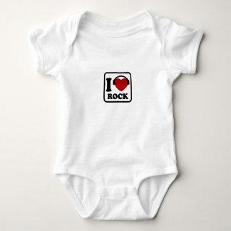 I love Rock Baby Bodysuit