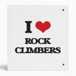 I love Rock Climbers Binder
