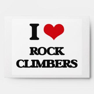I love Rock Climbers Envelope