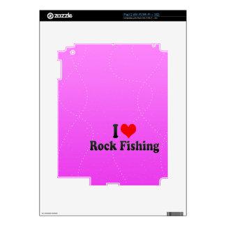 I love Rock Fishing Skin For iPad 2