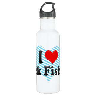 I love Rock Fishing Stainless Steel Water Bottle