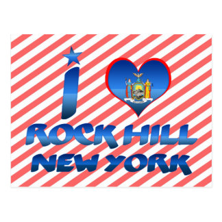 I love Rock Hill, New York Postcards