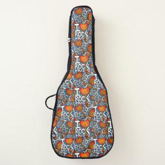 I love rock music guitar case