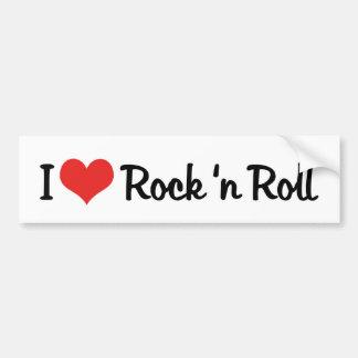 I Love Rock 'n Roll Bumper Sticker Car Bumper Sticker