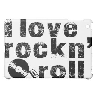 I love rock n' roll for your I pad ! Cover For The iPad Mini
