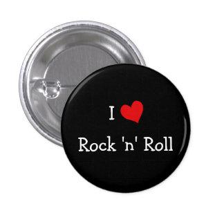 I Love Rock 'n' Roll Pinback Button