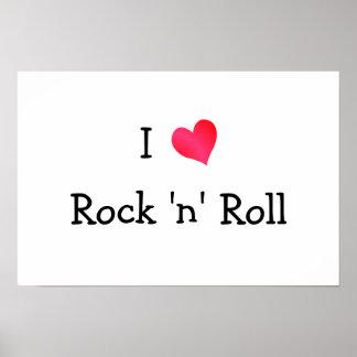 I Love Rock 'n' Roll Poster