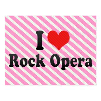 I Love Rock Opera Postcard