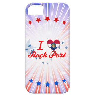 I Love Rock Port, Missouri iPhone 5 Covers