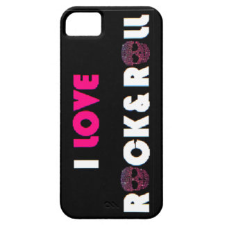 I Love Rock&Roll Phone Case