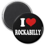 I Love Rockabilly Magnet