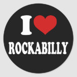 I Love Rockabilly Sticker