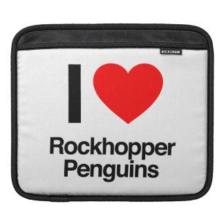 i love rockhopper penguins sleeve for iPads