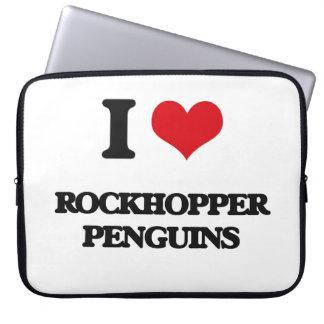 I love Rockhopper Penguins Laptop Computer Sleeves