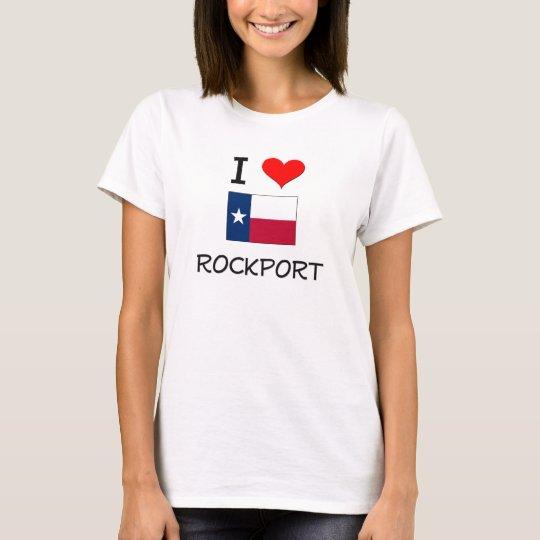 I Love Rockport Texas T-Shirt