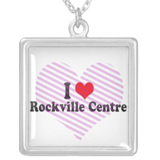 I Love Rockville Centre, United States Personalized Necklace