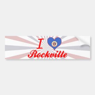 I Love Rockville, Minnesota Car Bumper Sticker