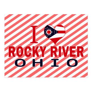 I love Rocky River, Ohio Postcard