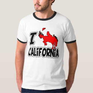 I Love Rodeo California T-shirt