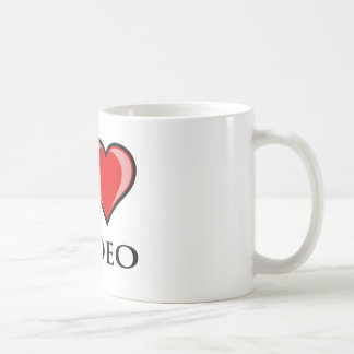 I Love Rodeo Coffee Mug