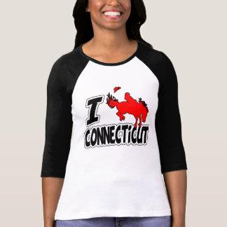 I Love Rodeo Connecticut T Shirt