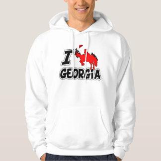 I Love Rodeo Georgia Hoodie