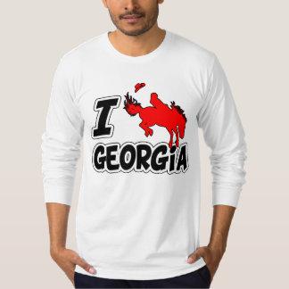 I Love Rodeo Georgia T-Shirt