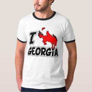 I Love Rodeo Georgia Tee Shirt