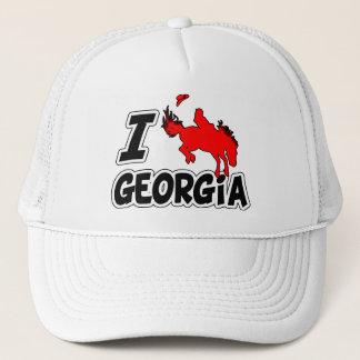I Love Rodeo Georgia Trucker Hat