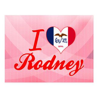 I Love Rodney, Iowa Postcards