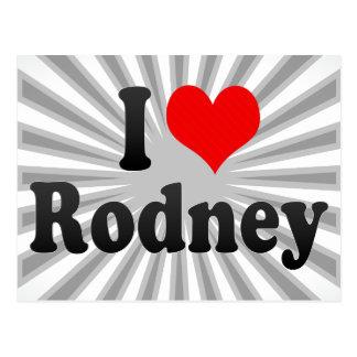I love Rodney Post Cards