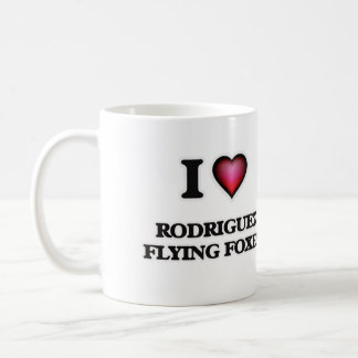 I Love Rodriguez Flying Foxes Coffee Mug
