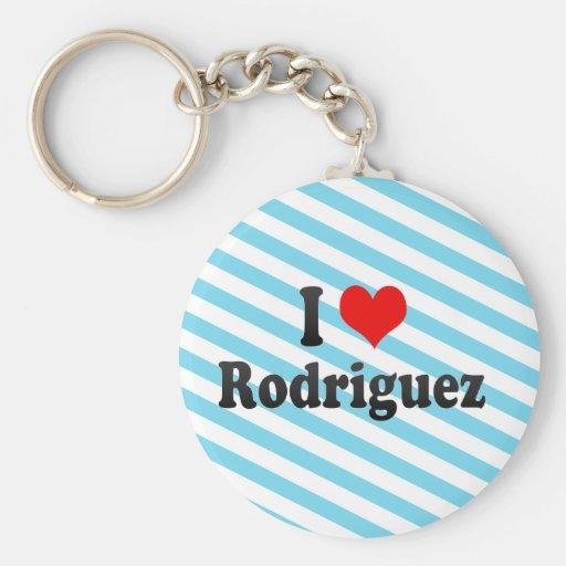 I Love Rodriguez, Philippines Key Chain