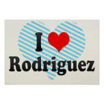 I Love Rodriguez, Philippines Print
