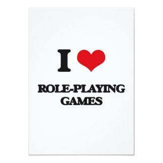 I Love Role-Playing Games Custom Announcement