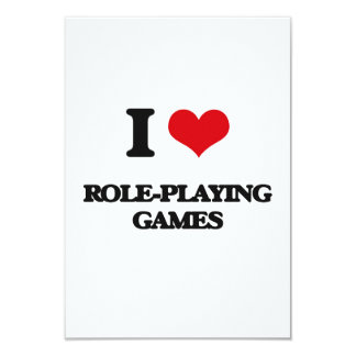 I Love Role-Playing Games Personalized Invite