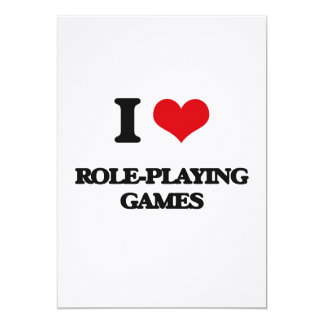 I Love Role-Playing Games Invite