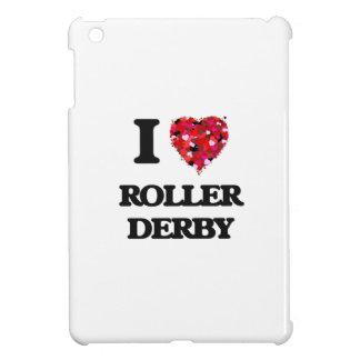 I Love Roller Derby iPad Mini Covers