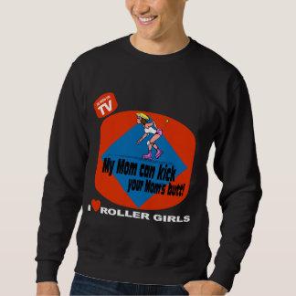 I Love Roller Girls Pull Over Sweatshirt