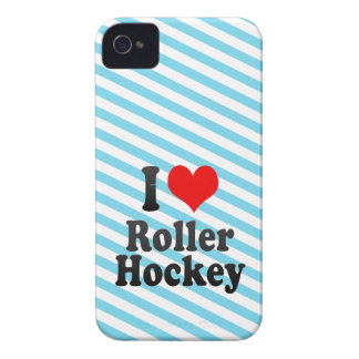 I love Roller Hockey Case-Mate iPhone 4 Case
