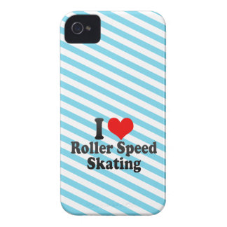 I love Roller Speed Skating iPhone 4 Cases