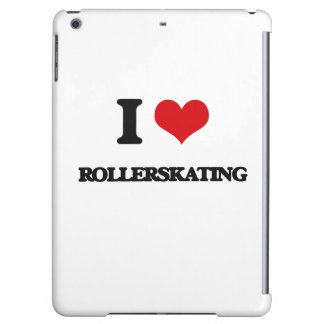 I Love Rollerskating Case For iPad Air